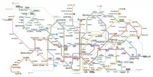 Mapa Metro Barcelona Actualizado