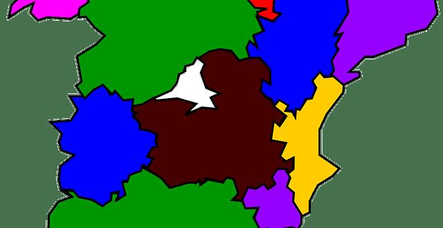 Mapa Regiones de España