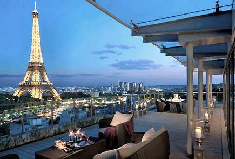 Hoteles céntricos en París