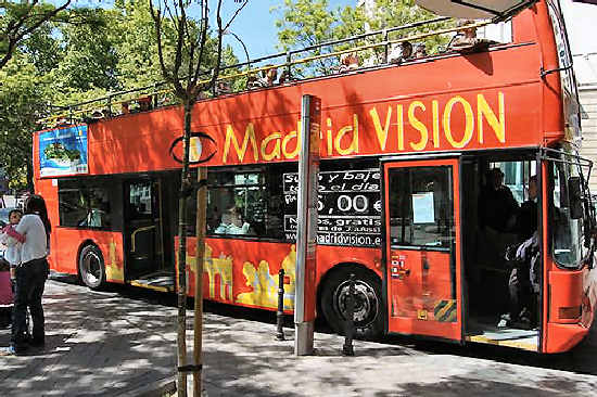 sitios turisticos en Madrid