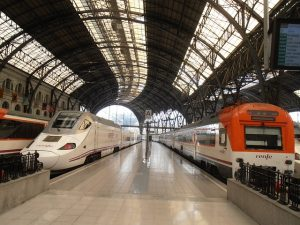 Trains in Spain for your holidays in Spain